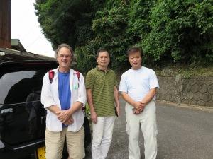 Myself, Tatsuya and Fuchino san